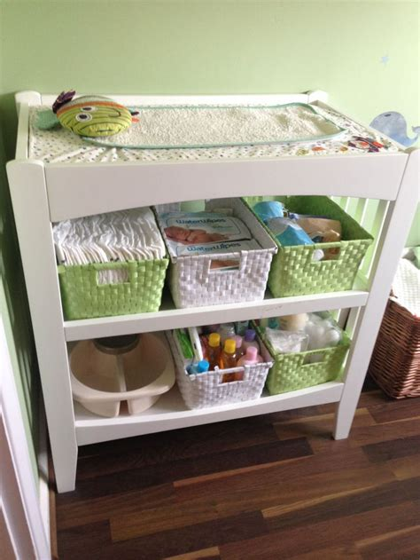 Pin By R A Baby Changing Table Organizer