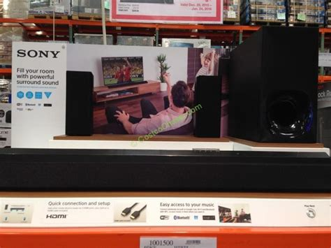 sony  sound bar home theater costcochaser