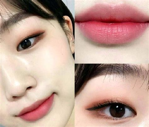 tutorial lipstik gradasi korea make up natural ala korea untuk kulit sawo matang 4k