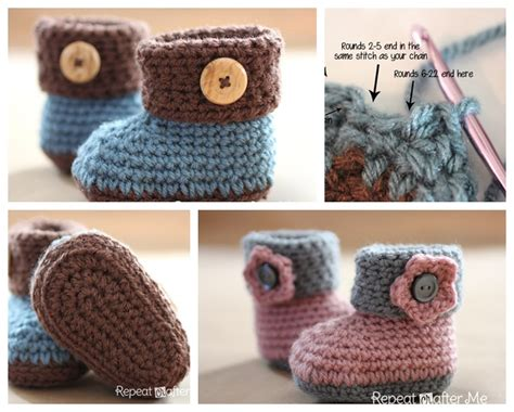 winter crochet wonderful crochet projects to warm you and your loved ones books wonderful diy crochet cuffed baby booties with free pattern