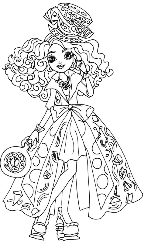 ever after high coloring pages legacy day legacy day briar in ever after high coloring pages