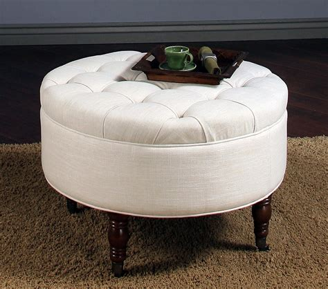 ottoman style coffee tables special round ottoman coffee table for elegant style