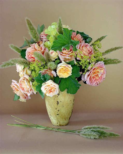 arranging flowers pink flower arrangements martha stewart