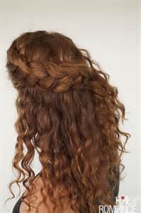 hair layered and curls up in back what to do with the sides curly hair tutorial the half up braid hairstyle hair