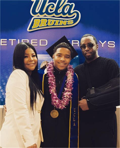 lori harvey and justin diddy s son justin combs first in family to graduate college