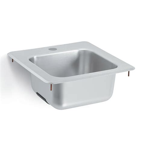 drop in hand vollrath 1551 underbar drop in hand w 1 hole for faucet
