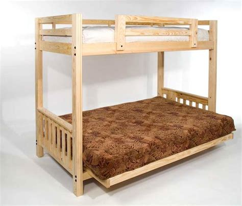full size bed futon freedom futon bunk package deal includes full size mattress