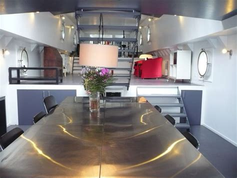 house boat france interior houseboat france houseboats vessels and barges pinterest interiors dutch barge