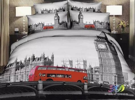 london themed comforter set total fab london themed bedding room decor