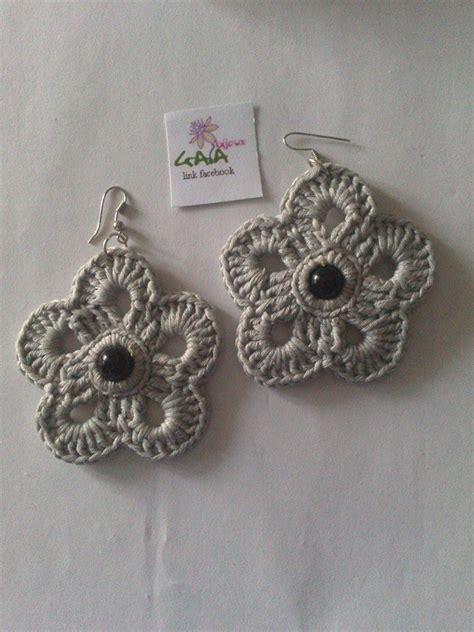 orecchini uncinetto fiore orecchini fiore ad uncinetto gioielli orecchini di