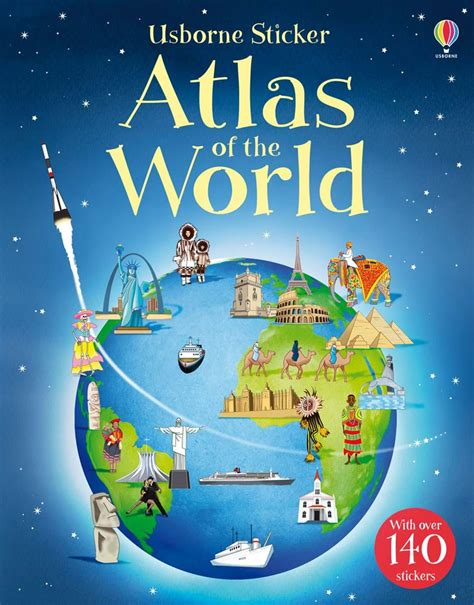 Sticker Atlas by Sticker Atlas Of The World At Usborne Books At Home