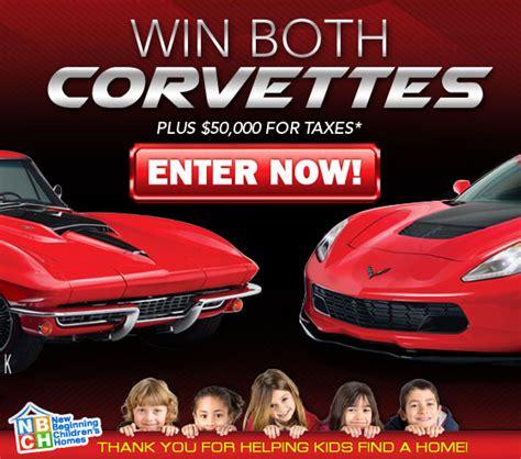 win two corvettes win a 2015 corvette z06 or a 1967 corvette stingray