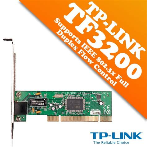 Pci Network Adapter Tp Link Tf 3200 10 100mbps tp link tf 3200 10 100mbps pc end 2 24 2018 5 15 pm myt