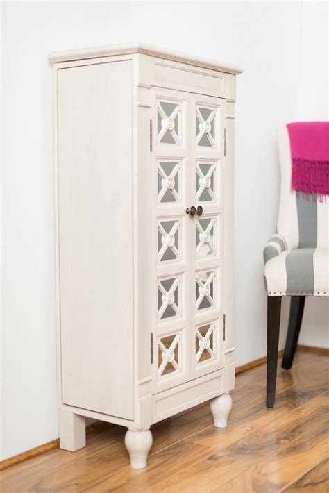 white jewellery armoire jewelry armoire white gallery