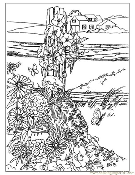 coloring pictures of wildflowers wildflowers preview coloring page free garden coloring