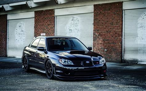 subaru wrx wallpaper black wallpapers subaru impreza wrx sti tuning black