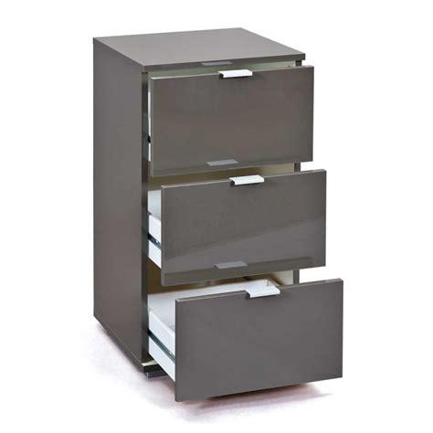 caisson de bureau noir caisson de bureau 3 tiroirs quot nakano quot noir