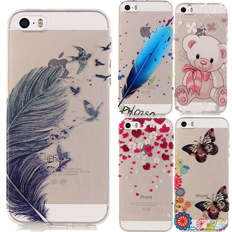 Iphone 5 5s 5se Cover Casing Silikon Soft Keren Gaul for coque iphone 5 se 5s 5se transparent soft silicone cover for iphone se 5s 5se