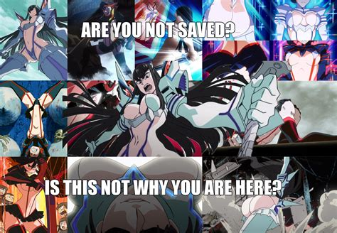 R Anime Plot by Kill La Kill Anime Is Saved Killlakill
