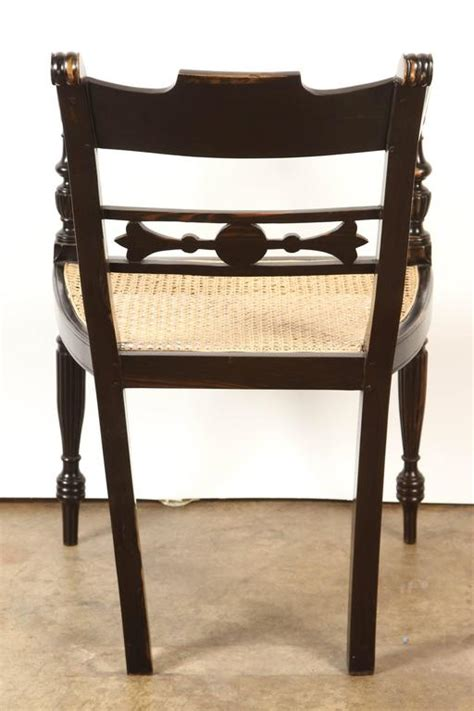 colonial armchair british colonial ebony armchair at 1stdibs