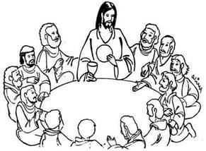 coloring pages jesus last supper the last supper coloring page coloring home