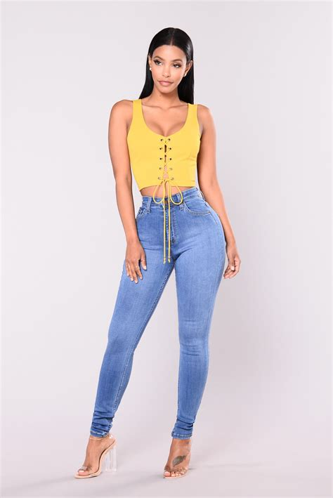 High Waist precious fit high waisted jean medium