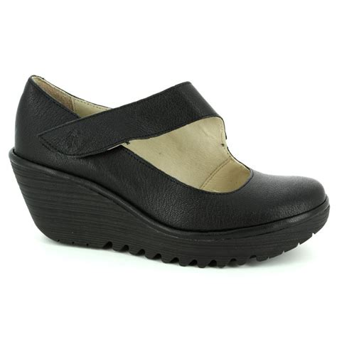 london comfort shoes fly london yasi 682 p500682 000 black comfort shoes
