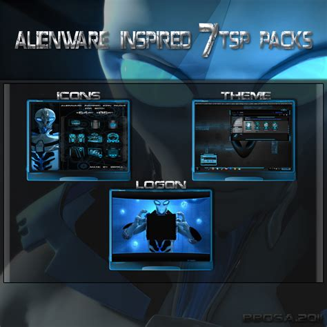 alienware theme for windows 7 kickass alienware inspired 7tsp pack by bbosa on deviantart