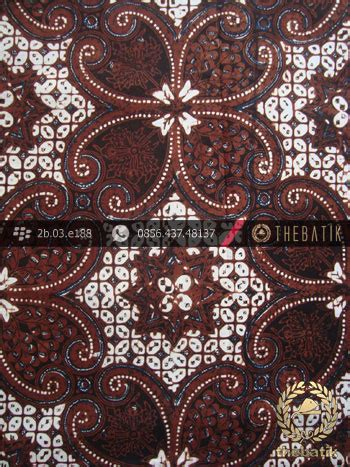 Batik Klasik batik klasik jogja motif lereng wirasat kembang thebatik