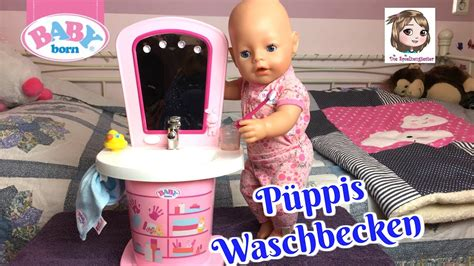 baby born waschtisch baby born waschtisch p 252 ppis morgen routine am