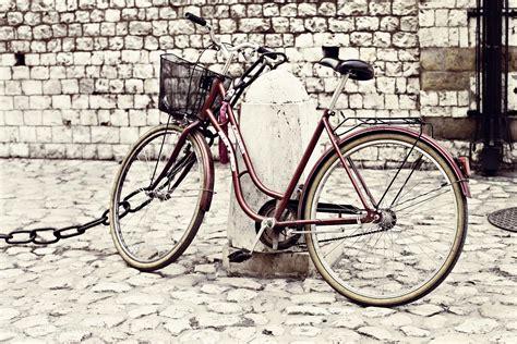retro photos retro bike around my table