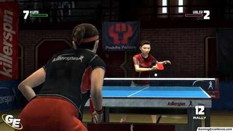 Rockstar Table Tennis by Rockstar Presents Table Tennis Review Gamingexcellence