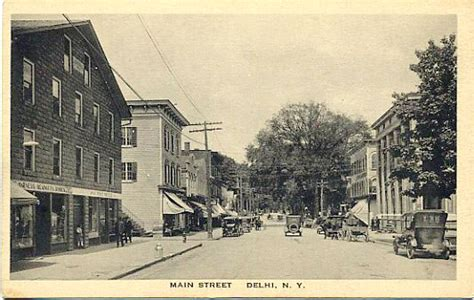 Old Delhi Postcards - Delaware County NY Genealogy and ...