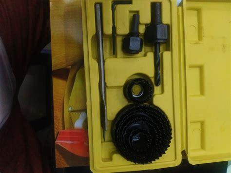 New Saw Kit Holesaw Kit Mata Bor Pelubang Kayu Nankai 13 jual holesaw kit saw kit mata bor pelubang kayu