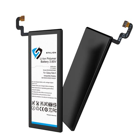 samsung 5 battery replacement stalion 174 strength 3000mah li ion battery replacement for samsung galaxy note 5