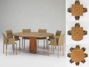 Stylish Dining Table Modern Expandable Dining Table With Wooden Finish Venise By Protis Digsdigs