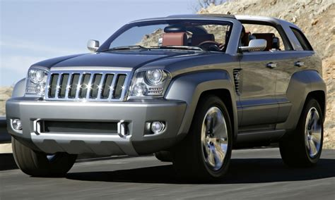 jeep trailhawk concept flashback 2007 jeep trailhawk