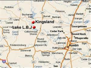 kingsland and lake lbj map related to real estate listings