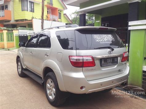 Panel Kevlar Fortuner 2010 jual mobil toyota fortuner 2005 g 2 7 di dki jakarta automatic suv silver rp 170 000 000