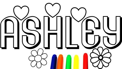 coloring pages of the name ashley coloring name ashley coloring book coloring pages
