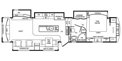 drv mobile suites floor plans 2015 drv mobile suites fifth wheel series m 41rssb4 specs