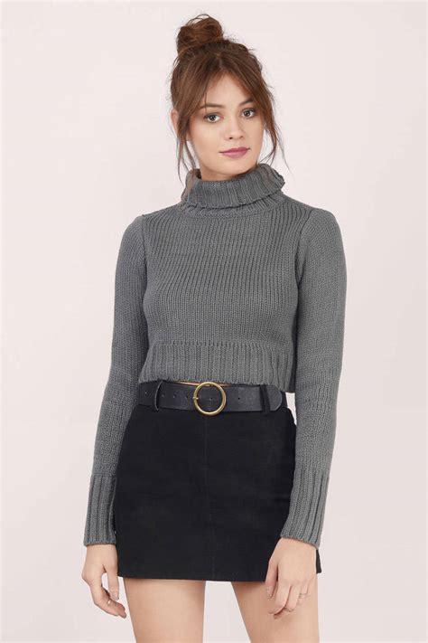 Sweater Turtleneck grey sweater turtleneck sweater grey sweater