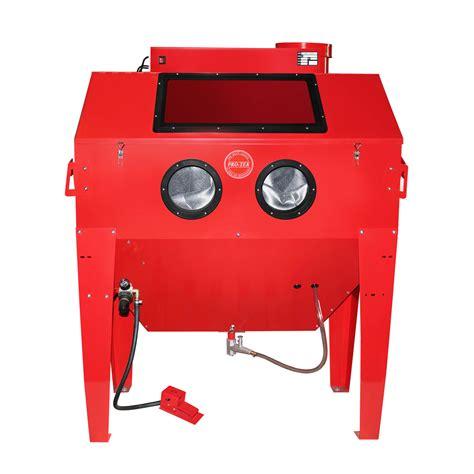 sandblasting cabinet vacuum system heavy sandblasting cabinet vacuum included pro