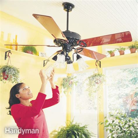 how to install ceiling fans the family handyman