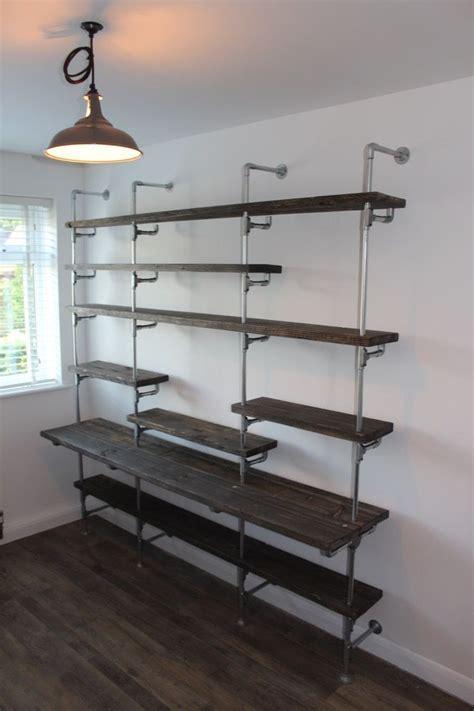 metal conduit kitchen design diy shelving metal