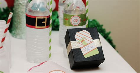 christmas elf printables  holiday label templates