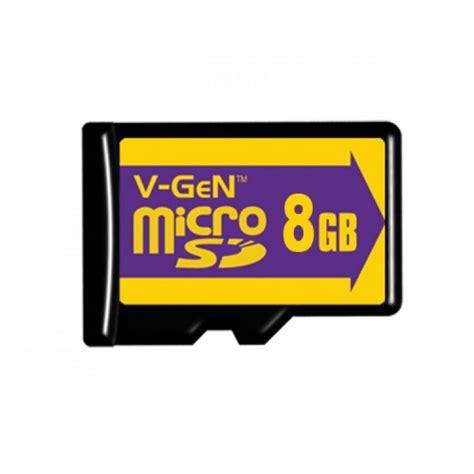 microsd vgen 8gb class 6 non adapter komputindo