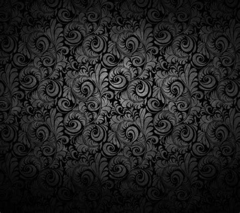 black elegant pattern background black mysterious flower pattern flower flowers