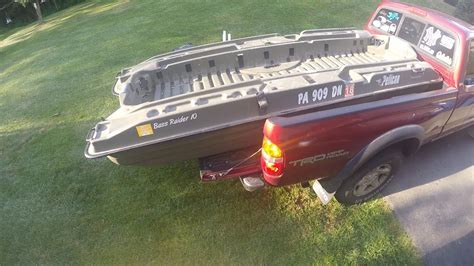 pelican boats bass raider 8 pelican bass raider how to load the boat in a small