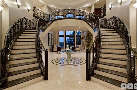 Entryway Tile Design Ideas Traditional Staircase With Complex Marble Tile Amp Balcony